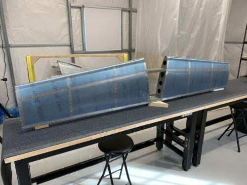 Horizontal Stabilizer Competed