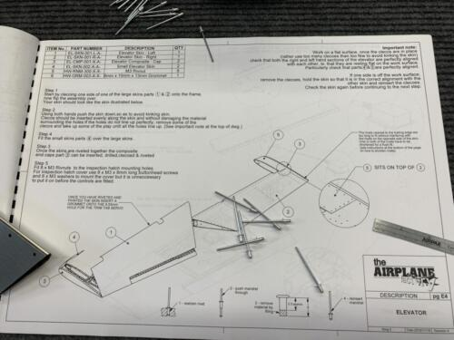 Shortened Rivets and Related Construction Manual Page