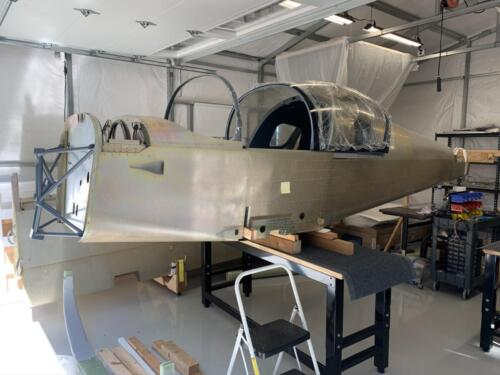 Fuselage on Workbench