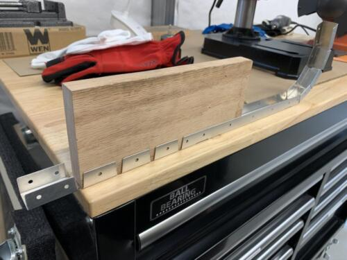 DIY Sheet Metal Brake - Bench Top and a Block of Wood