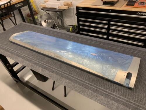 LH Aileron Skin Ready for Fitment