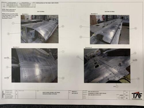 Sling Aircraft Construction Manual, Details for Stainless Steel Rivets