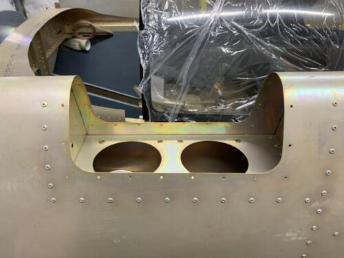 Landing/Taxi Light Mounting Recess - LH Wing Panel