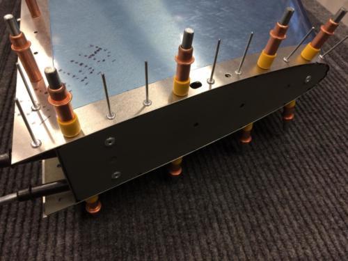 Shortened Rivets Nearest the Antenna Base