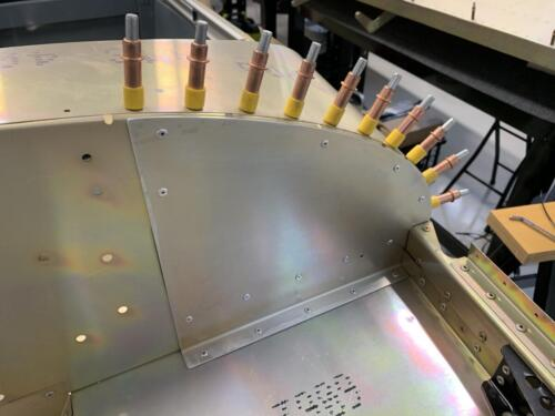 Reinforcement Plate Riveted