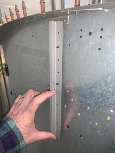 The Only Way to Rivet These Holes is From the Front