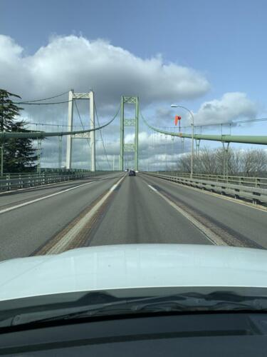 Returning (Westbound) Across the Tacoma Narrows Bridge