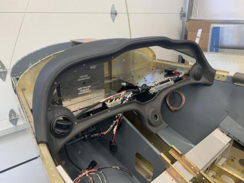 LRU Rack and Glare Shield - Trial Fit